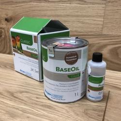 Цветное двухкомпонентное масло для дерева Berger BaseOil Color 2K