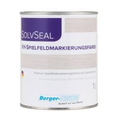 1-компонентная краска для нанесения разметки Berger KH Spilfeldmarkirungsfarbе (Германия) 1л