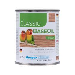 Тонированное масло глубокого проникновения Berger Classic BaseOil Color (Германия)