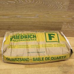 Кварцевый песок Quarzsand K08 (Германия) фракция 0,4-0,8мм мешок 25кг.